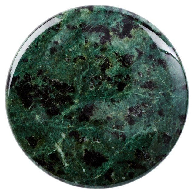 S/4 Marble Knobs, Green