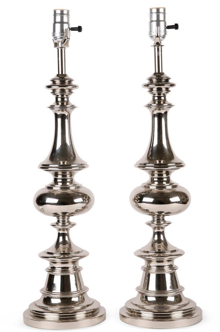 Rembrandt Lamps, Pair