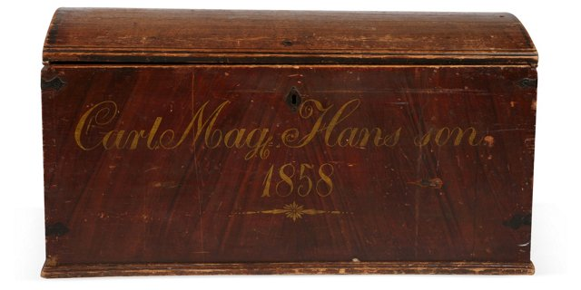 Antique Chest from Scandinavia