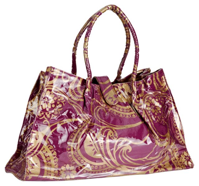 Travel Tote, Purple
