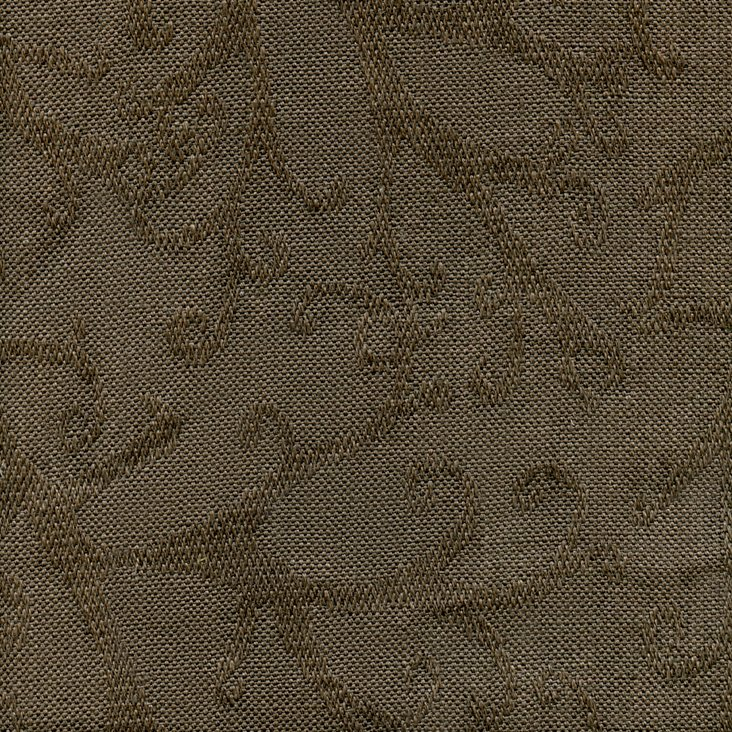 Stemmed Linen Fabric, Brown