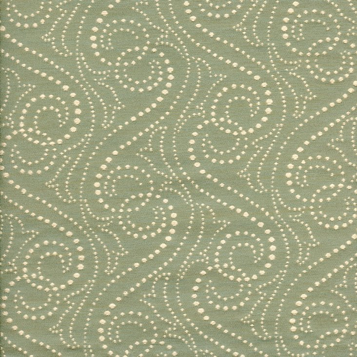 Dotted Fabric, Green