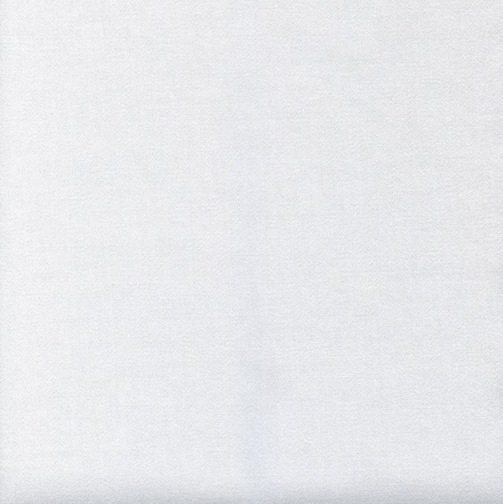 Solid Wool Fabric, White