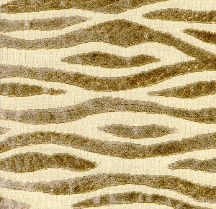 Hillside Fabric, Gold