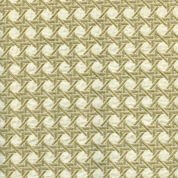 Crosshatch Fabric, Green