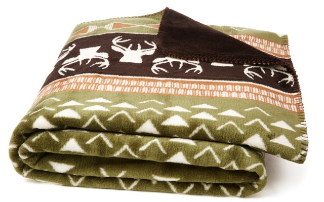 Nordic Deer Throw, Multi