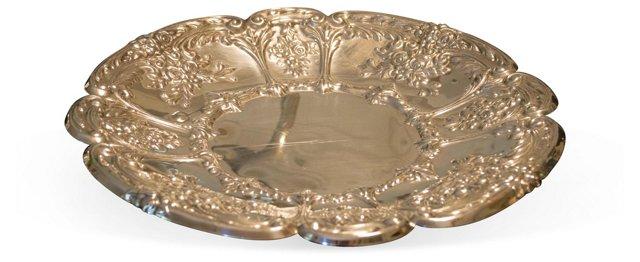 Silverplate Platter