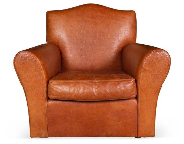 Ralph Lauren Leather Armchair