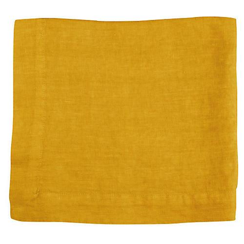 HG Linen Napkin, Citron
