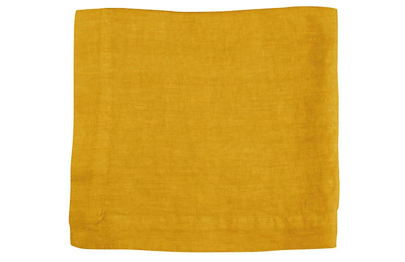 HG Linen Napkin - Citron - HUDSON GRACE