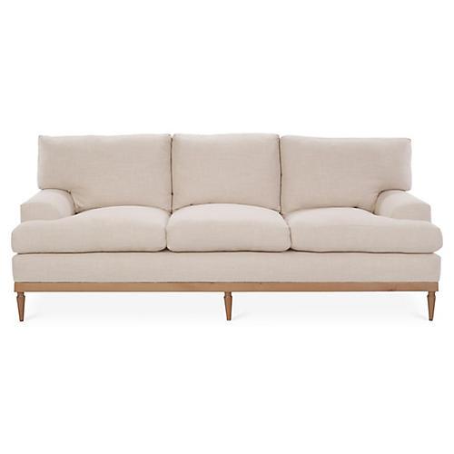 Sutton Sofa, Blush Crypton