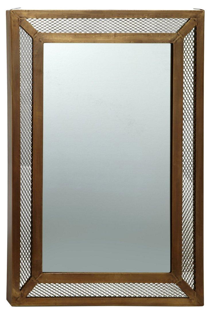 Iron Lace Mirror