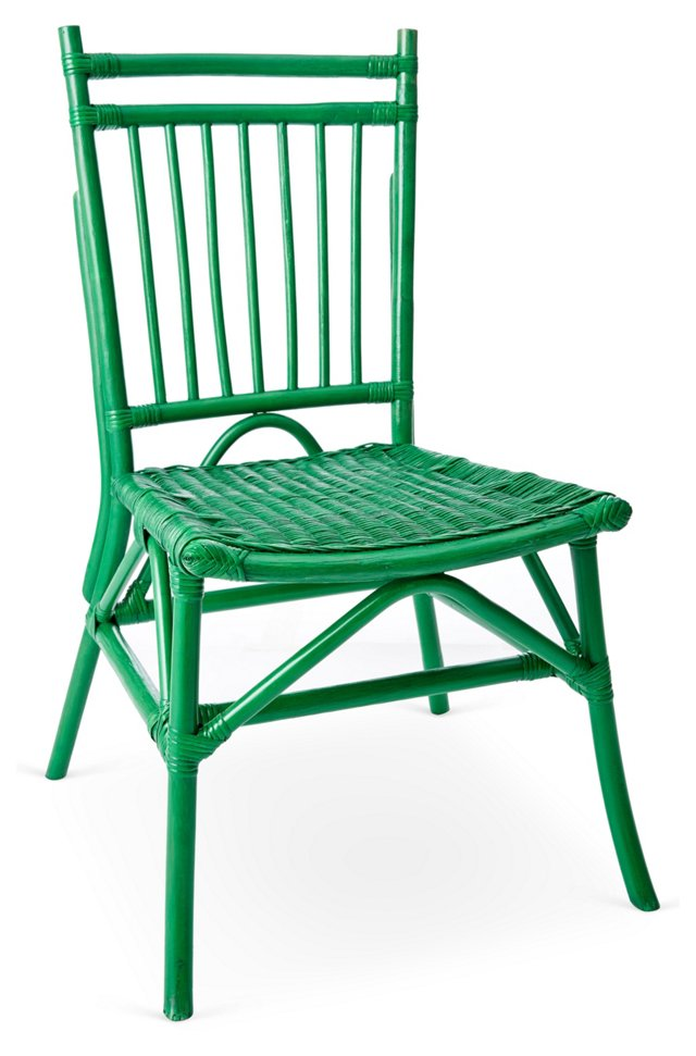 Oliver Dining Chair, Green