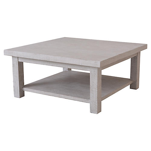 Heathcliff Coffee Table, Graywash