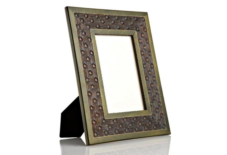 Hand-Carved Bordered Frame, 8x10