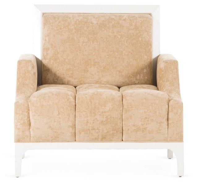 Emerson Lounge Chair, Peach