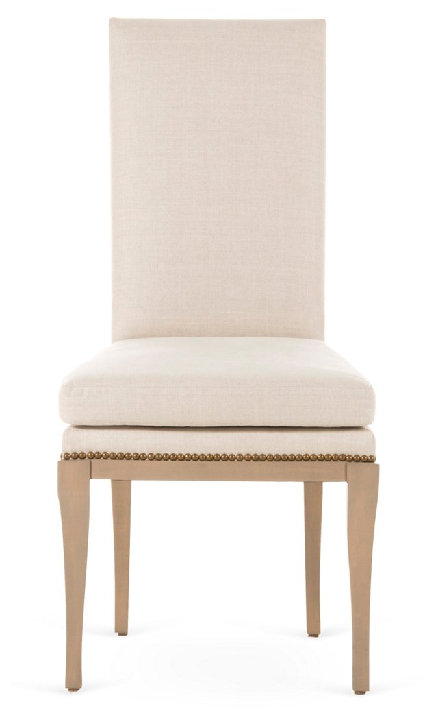 Malcolm Side Chair, Natural
