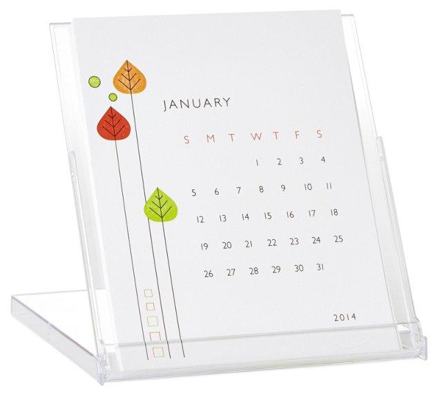 S/2 Retro Mod Desktop Calendars