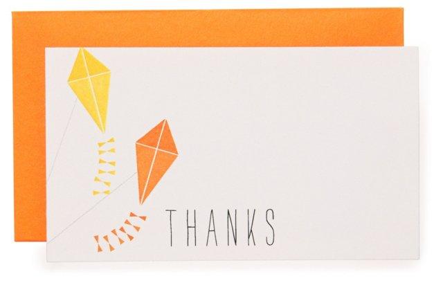 "S/16 Kite ""Thanks"" Enclosure Cards"