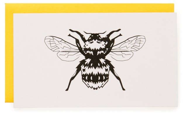 S/16 Bumble Bee Gift Enclosure Cards