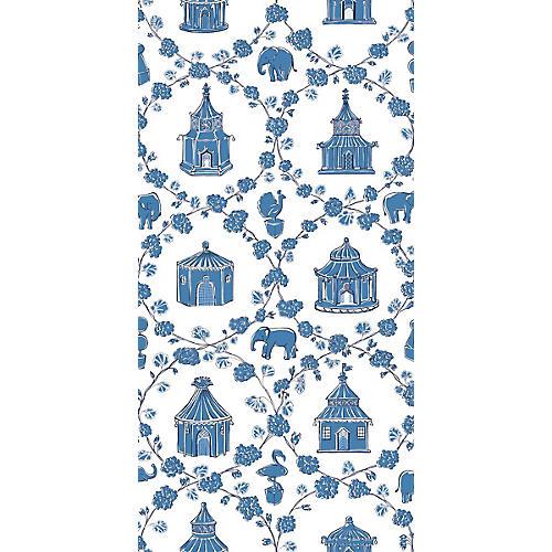 Into the Garden Madcap Cottage Wallpaper, Ocean