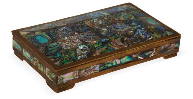 1960s Abalone Box