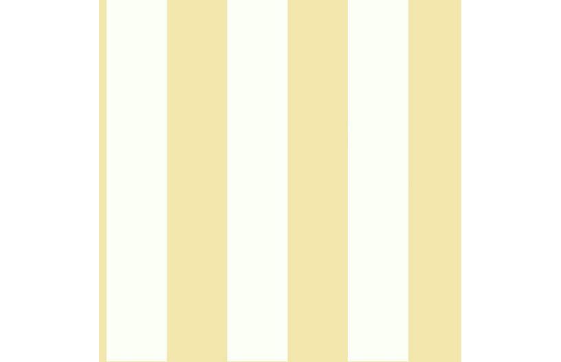 Stripe Wallpaper, Yellow