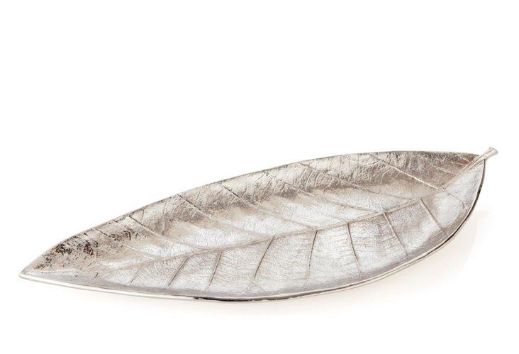 """15"""" Elm Leaf Tray"""