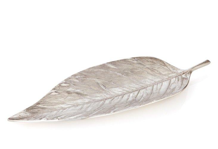 """27"""" Elm Leaf Tray"""