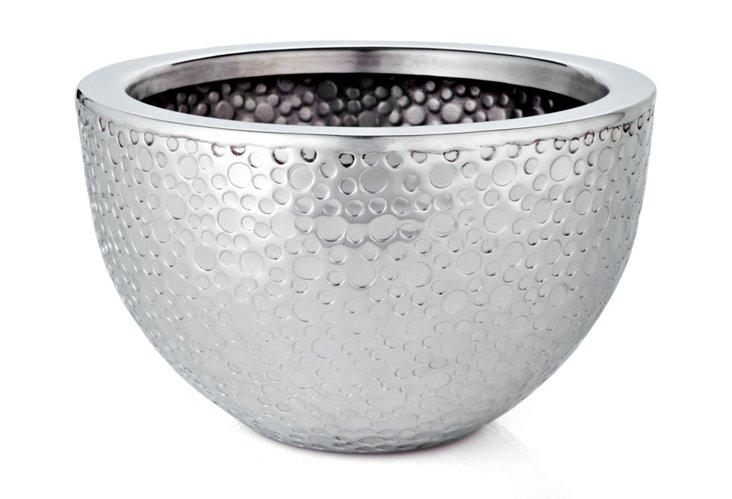 "11"" Hammered Dot Bowl"