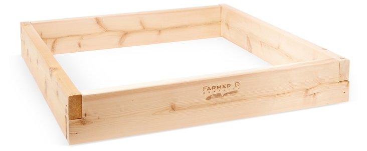 3' Cedar Raised-Bed Kit, Natural