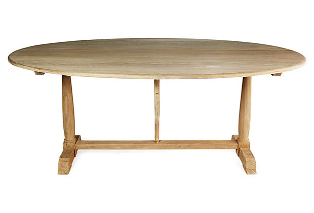 Blossom Dining Table, Natural