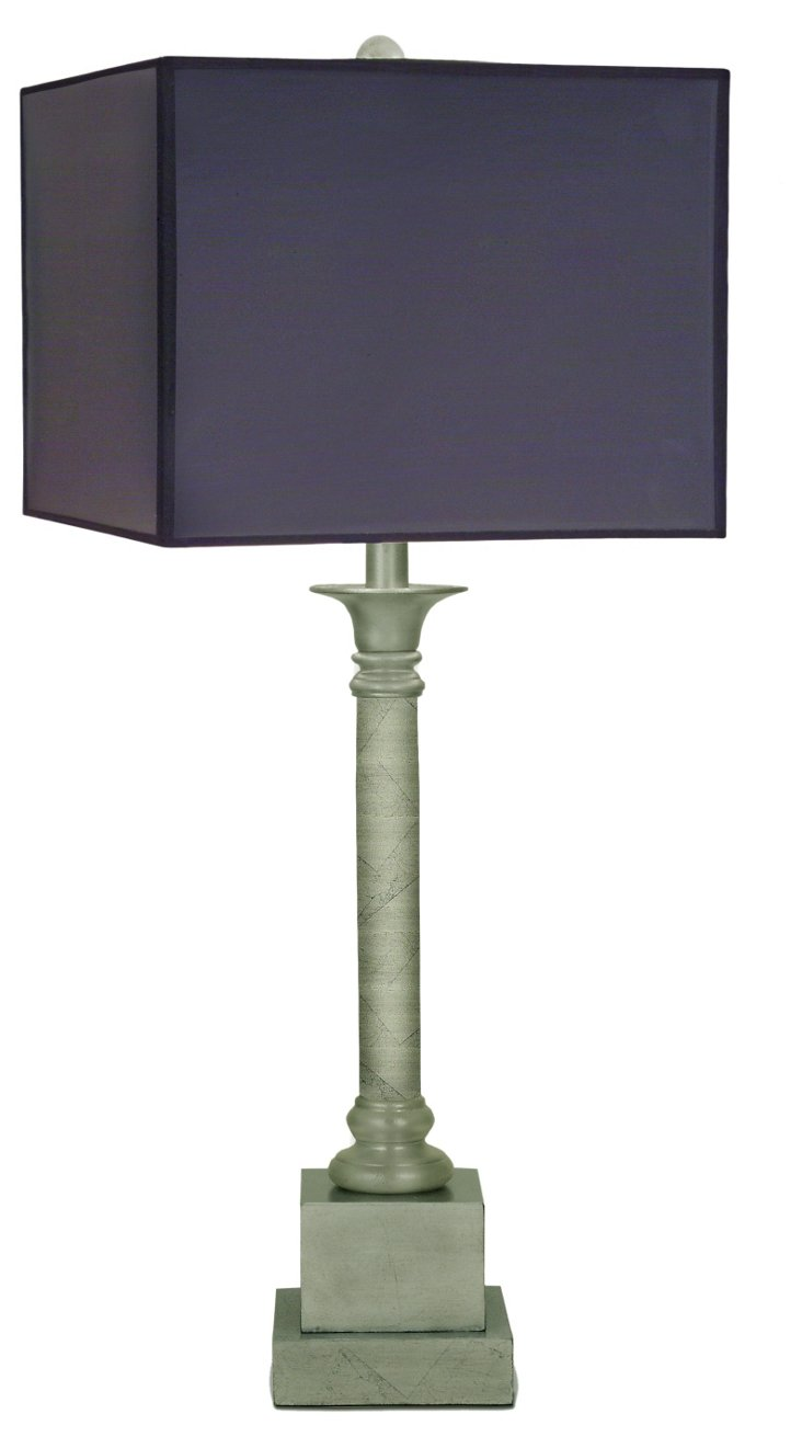 Canlis Table Lamp, Black Opaque