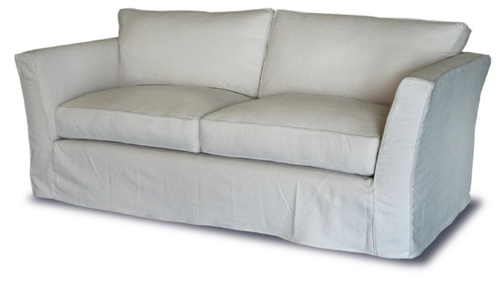 "Calvin 88"" Sofa, Natural"