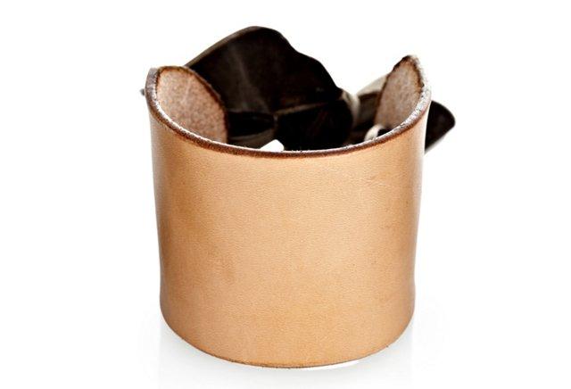 Ribbon Cuff, Chocolate