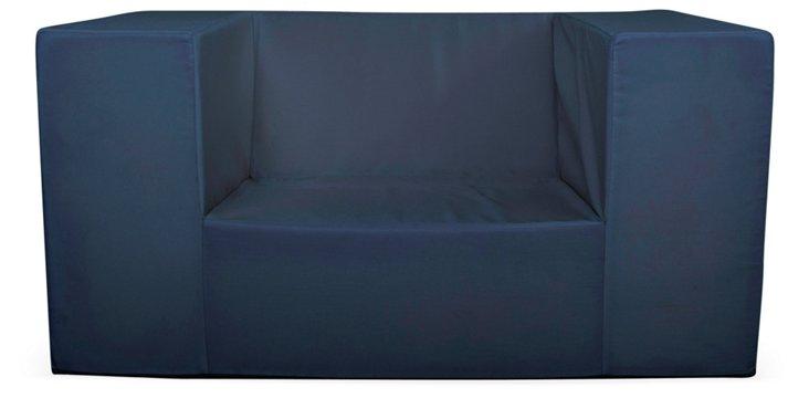 Lowboy Alice Chair, Navy