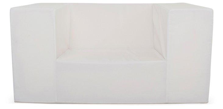 Lowboy Alice Chair, White