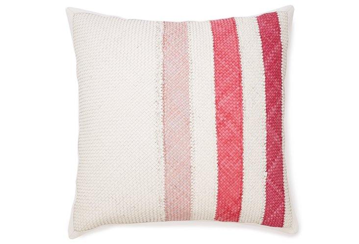 Hudson 21x21 Pillow, Princess Pink