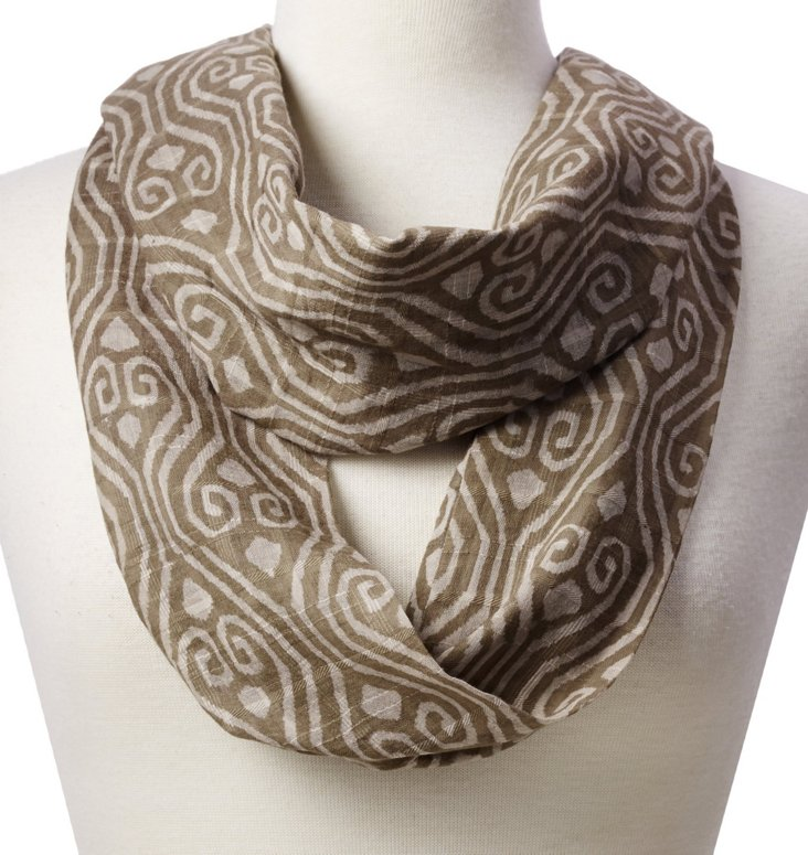 Infinity Scarf, Taupe