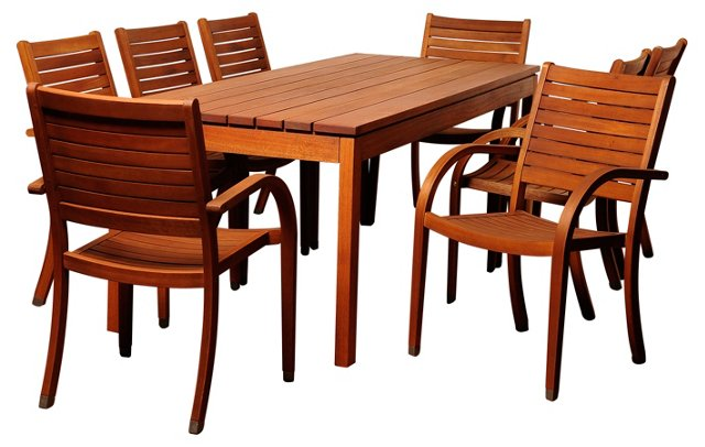 Dana 9-Pc Rectangular Dining Set