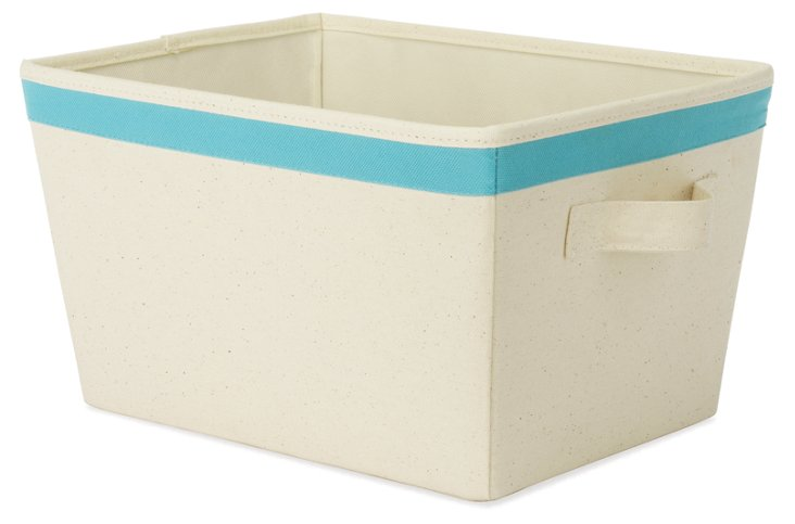 S/2 Small Totes, Blue