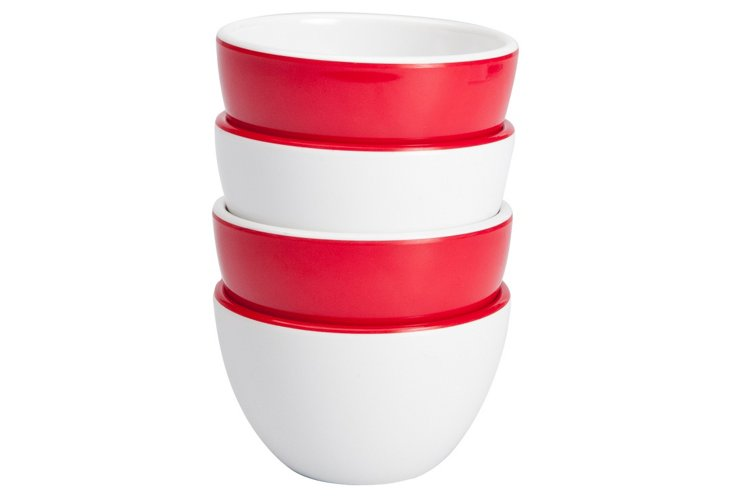 4-Pc Emeril 4oz Condiment Bowl Set