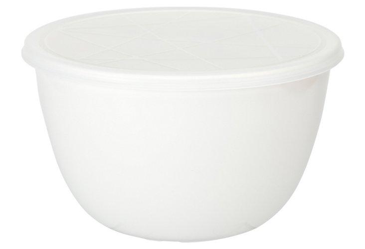 Emeril White 2Qt. Bowl w/ Lid