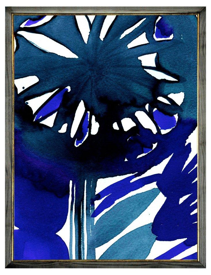 Blue Flower, Large