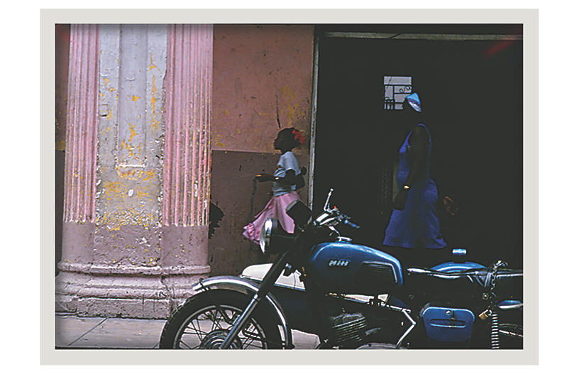 Selby Pena, Cuba Motorcycle