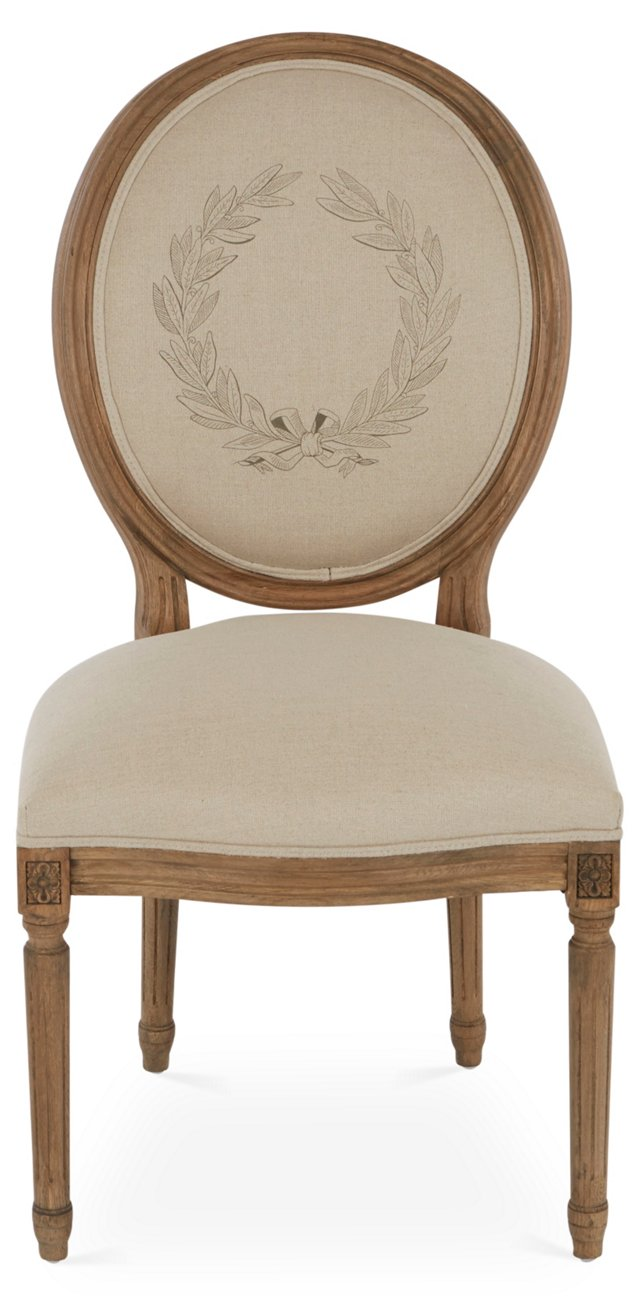 Brookside Chair, Toffee/Ivory