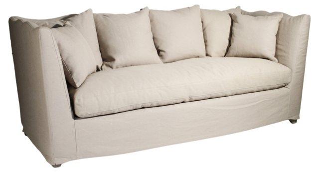 "Aragon 87"" Sofa, Oatmeal"