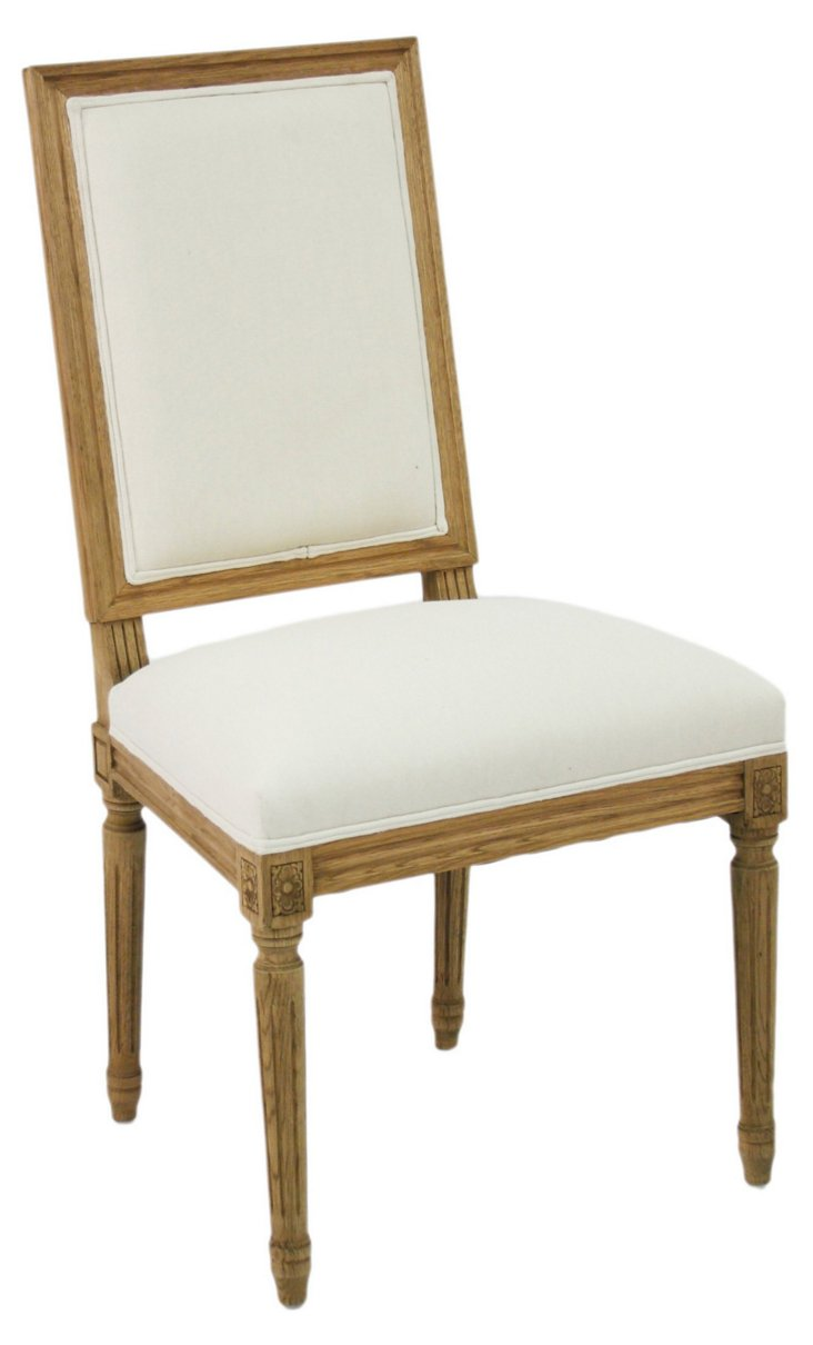 Morgan Side Chair, Ivory