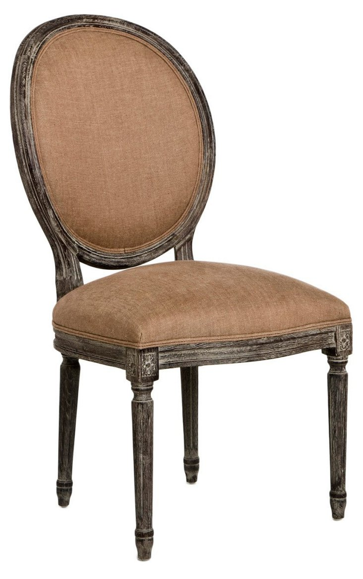 Octavia Side Chair, Copper