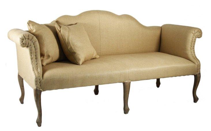 "Urbana 74"" Sofa, Camel"